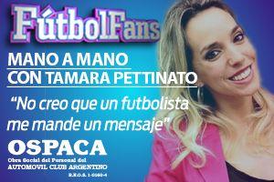 Fútbol Fans: Tamara Pettinato