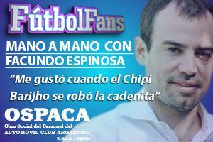 Fútbol Fans Facundo Espinosa