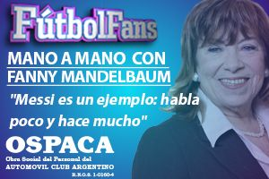 Fútbol Fans: Fanny Mandelbaum