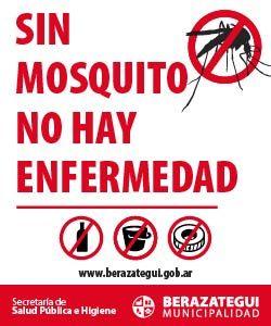 Banner dengue Berazategui Quilmeno