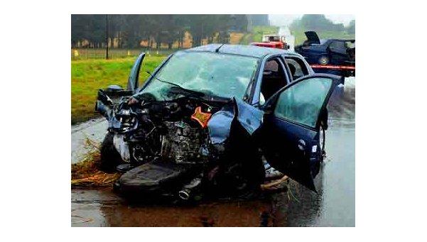 Dos muertos en choquefrontal en la Ruta 88