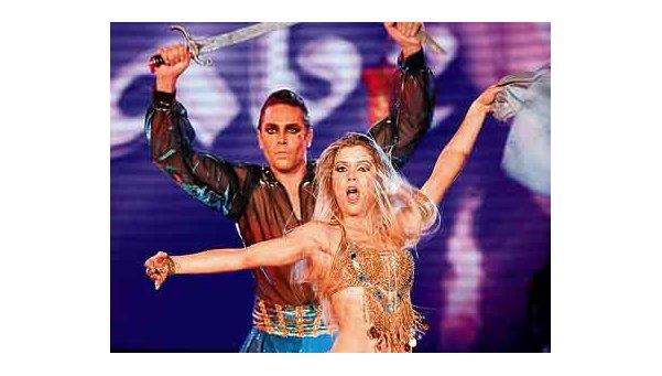 """El """"turco"""" Alé brilló en Bailando"""