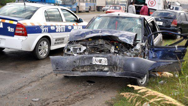 Dos muertos en choque frontal en Bahía Blanca