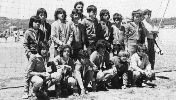 Imágenes inéditas: así jugaban Los Cebollitas de Maradona