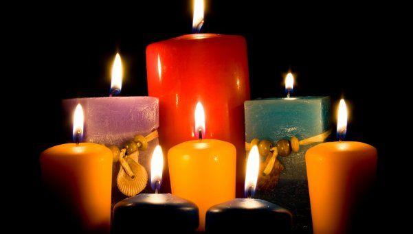 El poder de las velas según su color