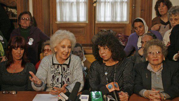 Abuelas de Plaza de Mayo denuncian vaciamiento en áreas de DDHH