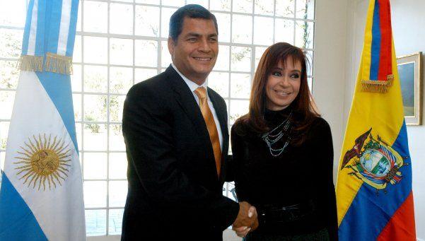 Cristina obtuvo permiso para viajar a Ecuador