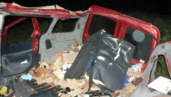 Accidente fatal: murieron seis personas cerca de Mar del Plata