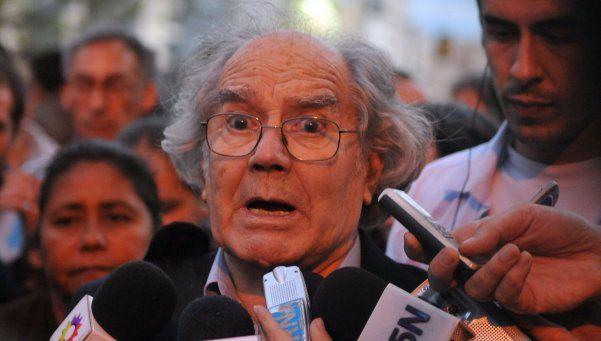 Pérez Esquivel instó a apoyar al Gobierno y a fortalecer las instituciones