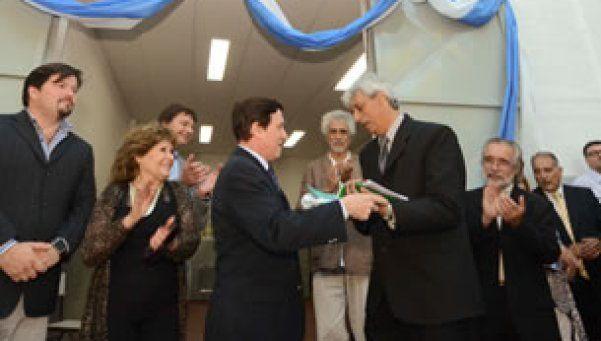 Inauguraron un centro de formación profesional en Lanús