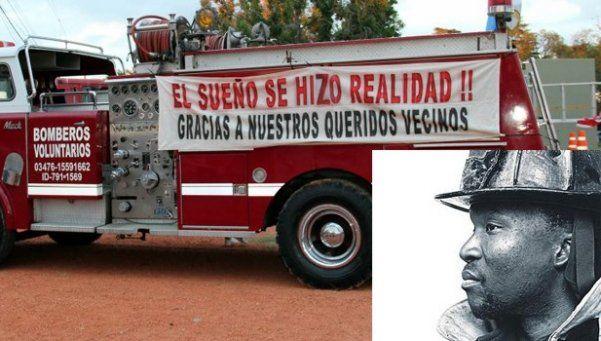 Fantasma de bombero muerto el 11S cuida una autobomba argentina