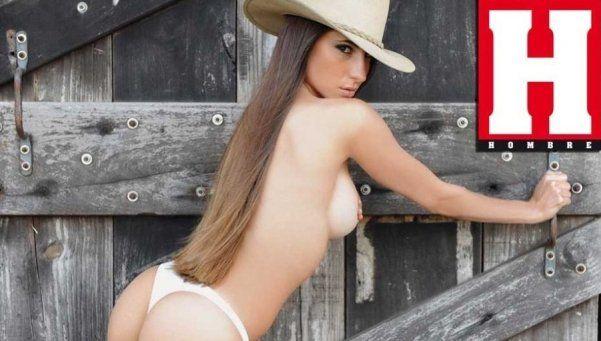 Las fotos hot de Magui Bravi en la revista Hombre