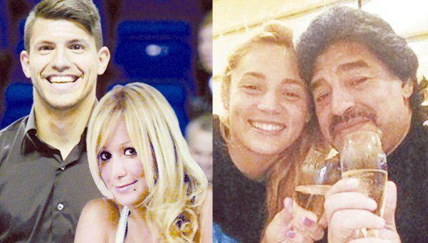 Maradona, Giannina, el Kun y Karina: el secreto de la relación