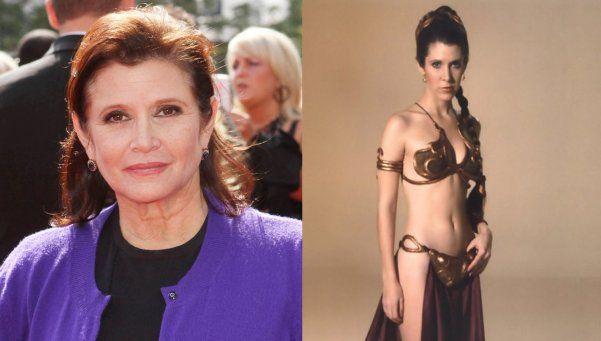 Que la fuerza la acompañe: la princesa Leia sufrió un infarto