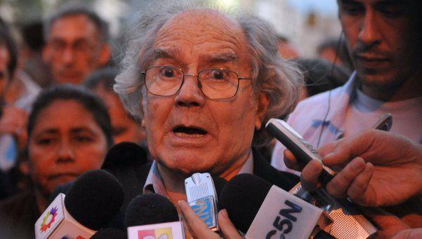 Pérez Esquivel, contra la política de Macri y el entorno de Scioli