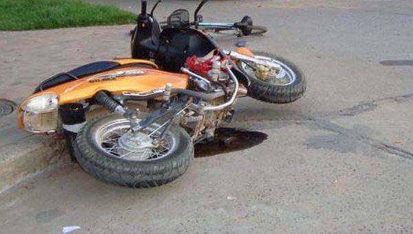 Murió un motociclista en un choque en la AU Perito Moreno