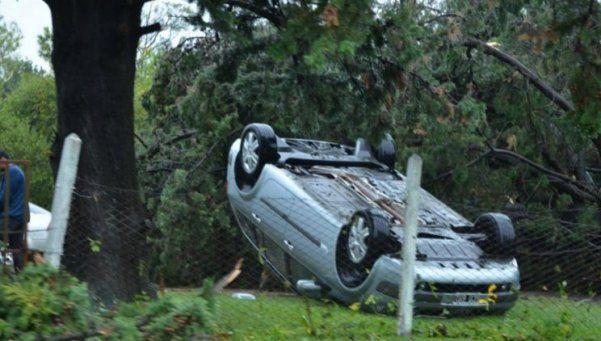 Tornado en Entre Ríos: impactantes imágenes
