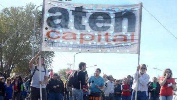 Marcha docente provocó caos de tránsito en la Ciudad