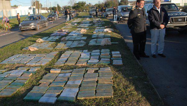 Secuestran 2.600 kilos de marihuana en cargamento de batatas