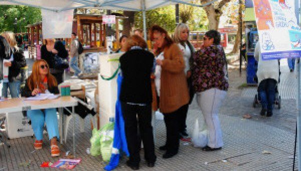 Operativo de vacunación antigripal en Quilmes