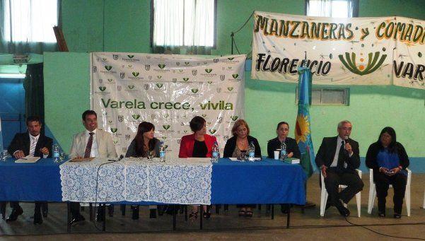 Charla sobre violencia de género en Florencio Varela