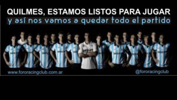 Hinchas de Racing amenazan a jugadores para que pierdan con Quilmes
