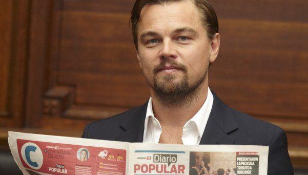 """DiCaprio: China puede ser héroe del cambio climático"""""""