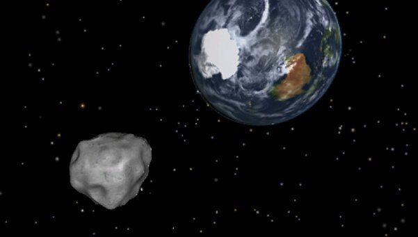 Advierten que un asteroide pasará cerca de la Tierra en Marzo