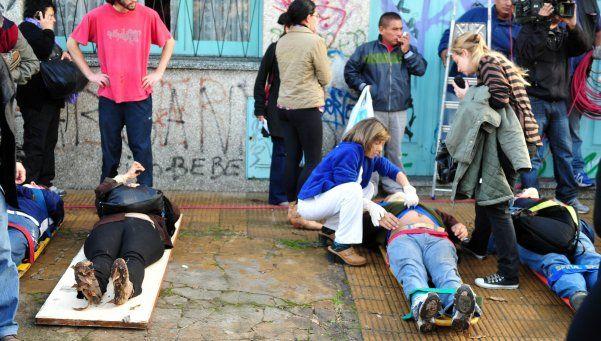 Chocaron dos trenes del Sarmiento en Castelar: 3 muertos