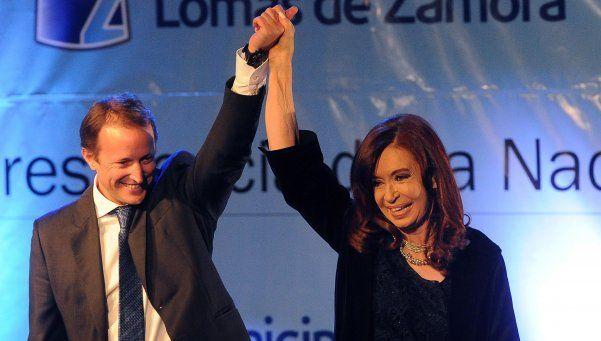 Insaurralde no cree que Cristina sea candidata