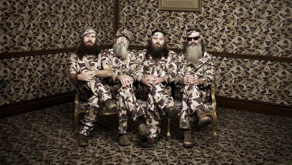 Llega Duck Dynasty, la imperdible serie sobre la familia Robertson