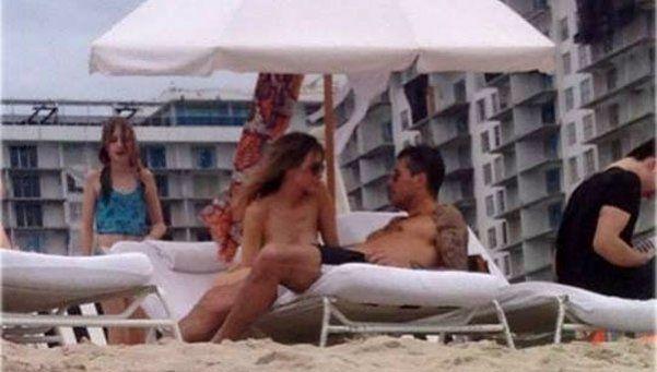 Las fotos de Marcelo Tinelli y Guillermina Valdés en Miami