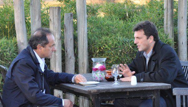 Scioli le pidió perdón a Massa por sospechar del robo a su casa
