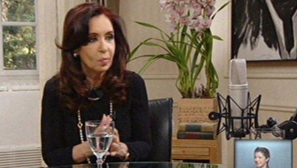 Cristina con Rial: mirá la segunda parte de la entrevista