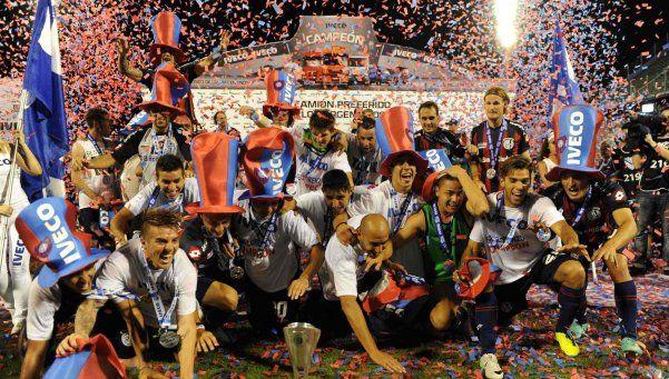 San Lorenzo es el nuevo campeón del fútbol argentino