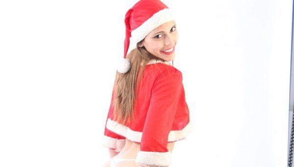 Flopi Vasile, una belleza como Mamá Noel