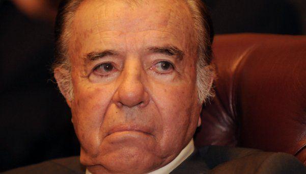 Menem declarará el 3 de mayo por la muerte de su hijo