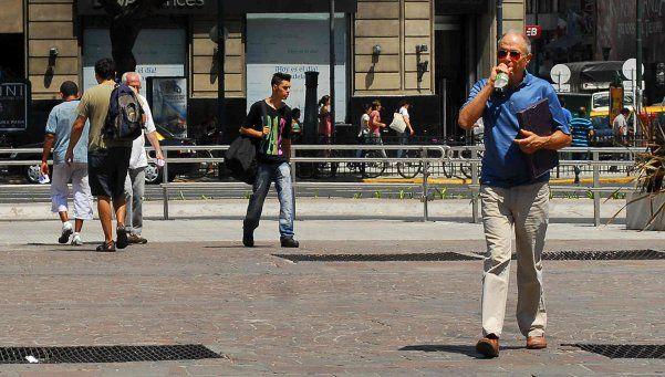 Alerta amarillo por la ola de calor en la Ciudad y el Conurbano
