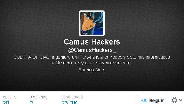 """Camus Hacker no para: volvió y promete """"la bomba de Tinelli"""""""