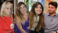 Las reacciones de Claudia, Dalma, Gianinna y Diego Jr
