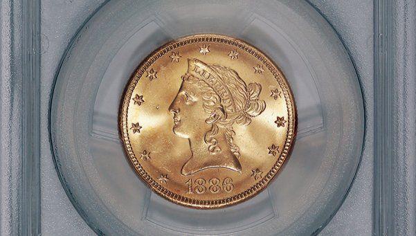 ¡Qué suertudo! Encontró monedas de oro en su propio jardín