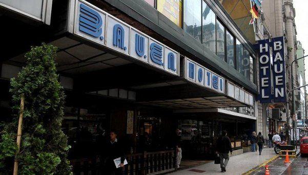 Avanza en Diputados un proyecto de expropiación del Hotel Bauen