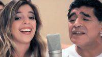 La canción con gusto a Mundial que grabaron Diego y Dalma
