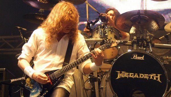 Por entradas agotadas, nueva función de Megadeth en Argentina