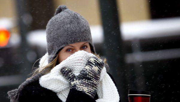 A un día del invierno, ya hay temperaturas bajo cero