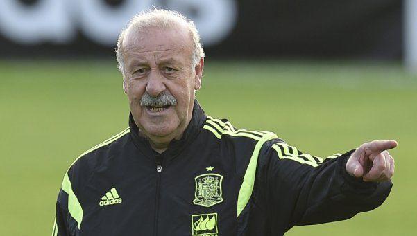 Del Bosque confirmó que se va de la Selección de España
