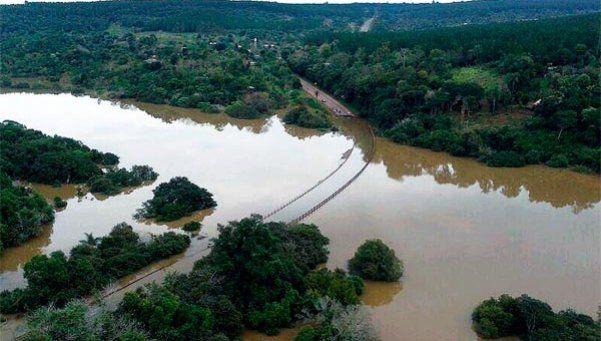 El Paraná continuará creciendo: hay alerta hidrológica por nuevas lluvias