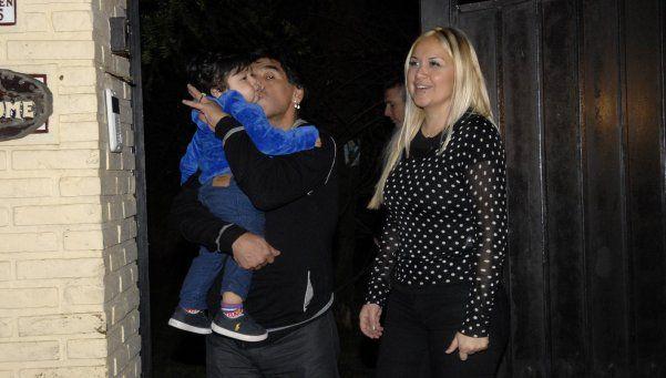 Hoy operan a Dieguito Fernando Maradona