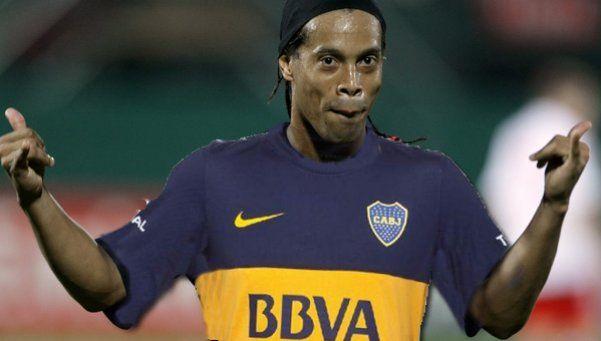 Ronaldinho jugará en Boca Juniors