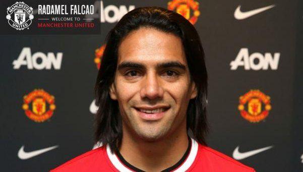 Es oficial: Falcao al Manchester United